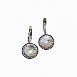 Серьги с кристаллами Swarowski